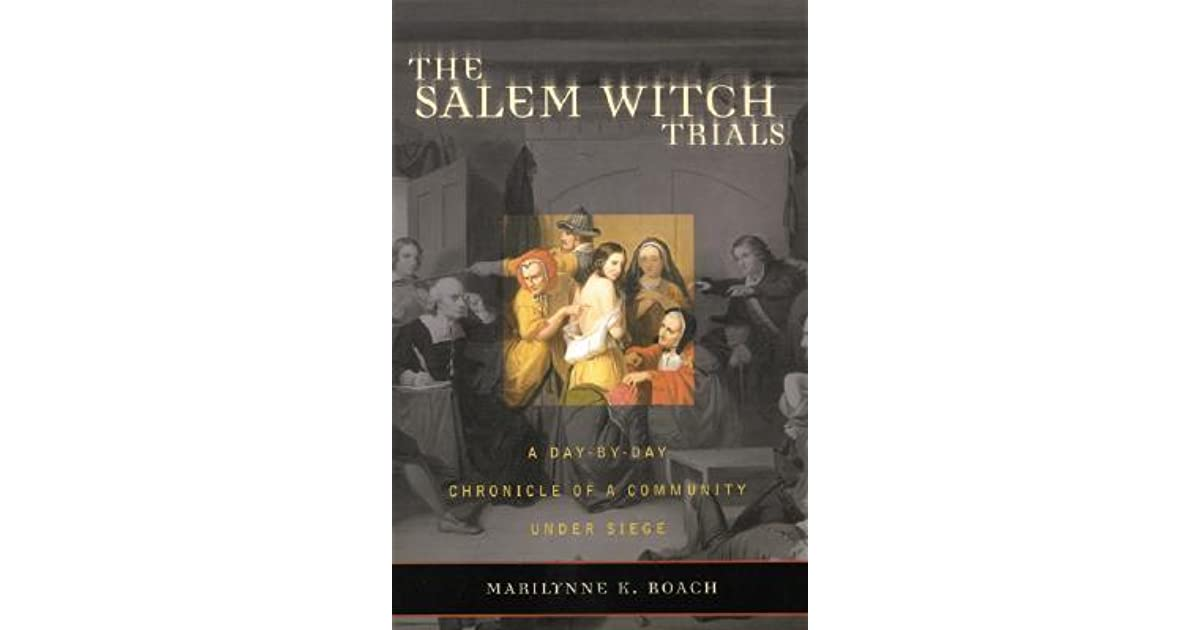 a study of the salem witch trials The salem witch trials occurred in colonial massachusetts between 1692 and 1693 more than 200 people were accused of practicing witchcraft—the devil's magic—and 20 were executed eventually, the colony admitted the trials were a mistake and compensated the families of those convicted.