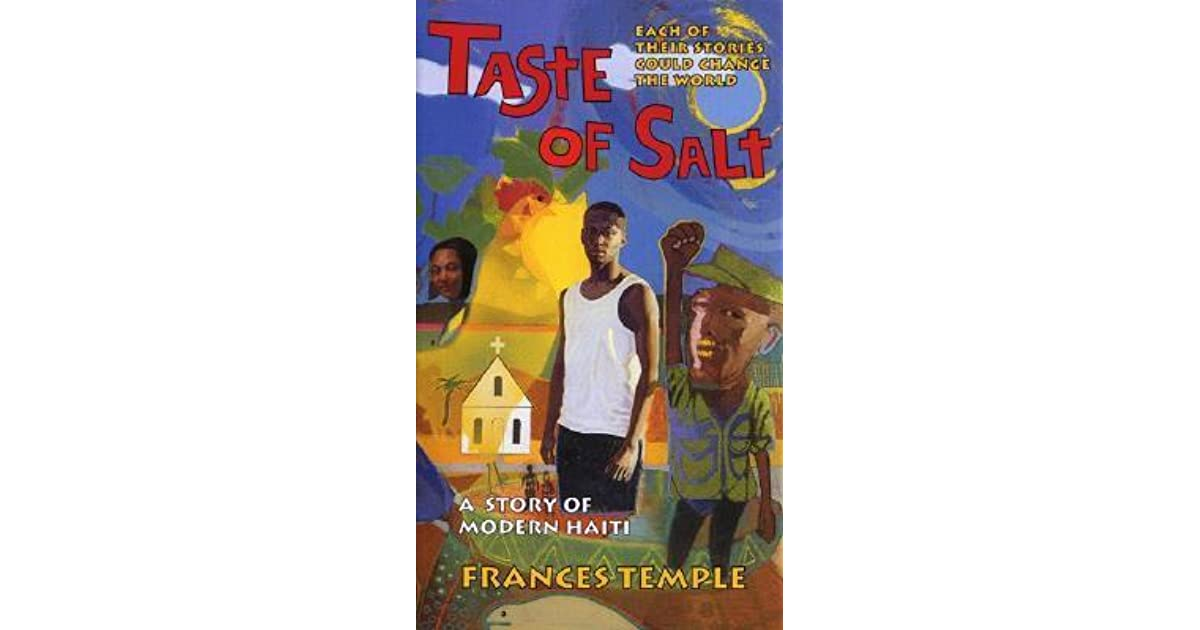 Taste of salt a story of modern haiti by frances temple fandeluxe Images