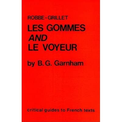 les gommes robbe grillet
