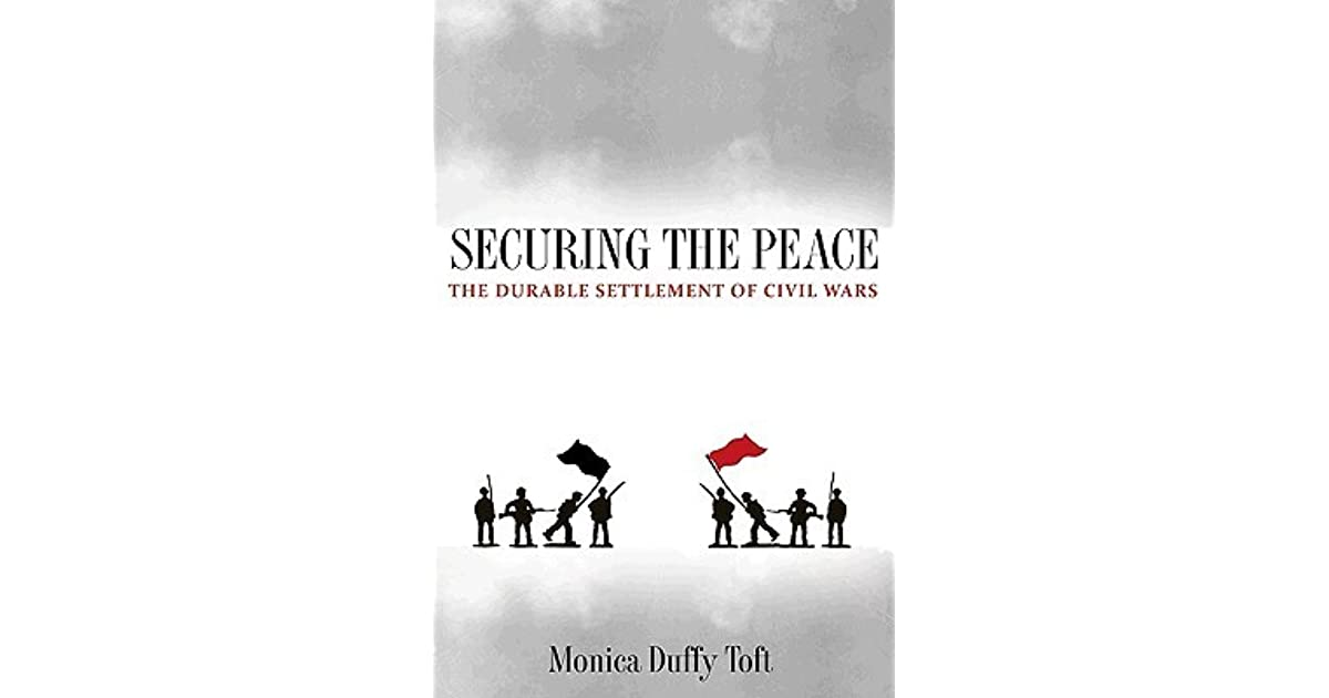 the geography of ethnic violence toft monica duffy