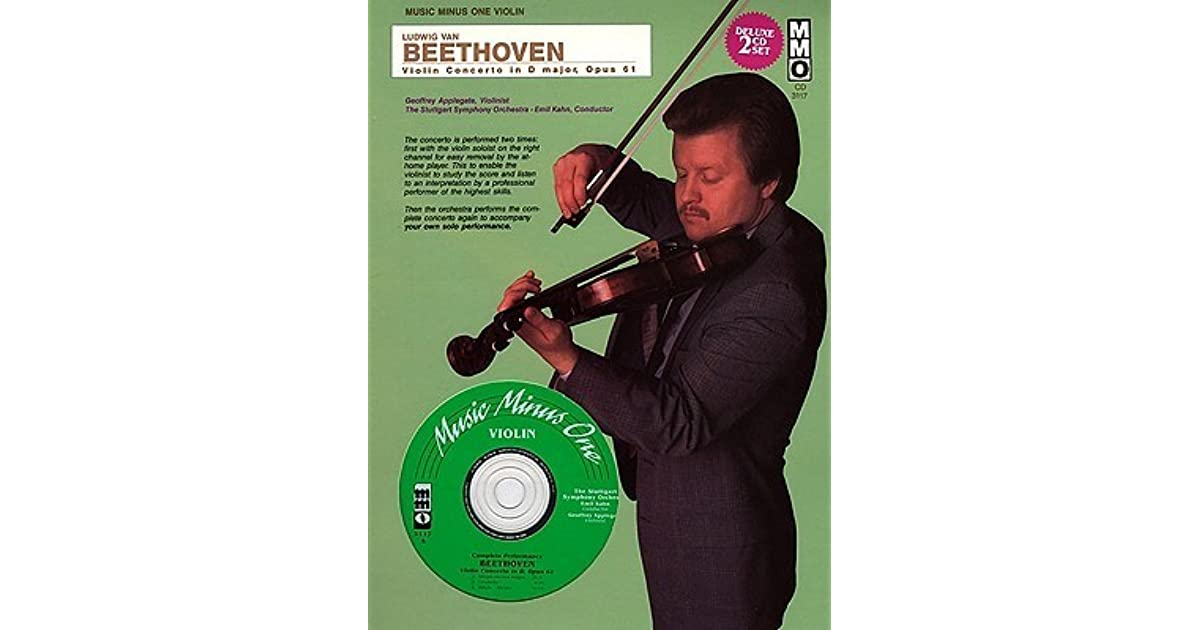 Konzert D-Dur Opus 61 Violin and Piano Book Only Ludwig van Beethoven