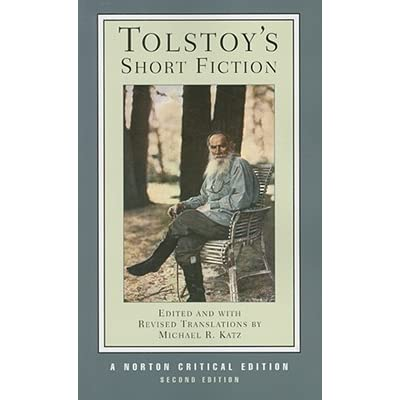 Tolstoys short fiction by leo tolstoy fandeluxe