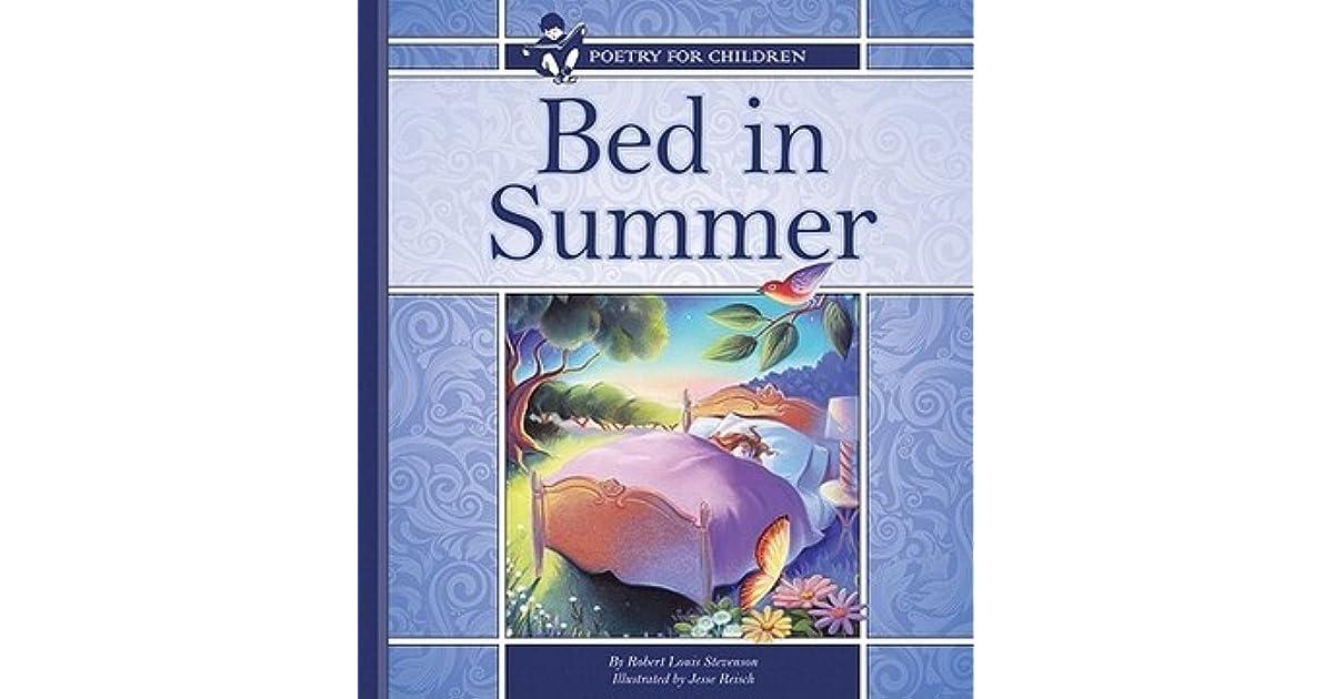 Bed In Summer By Robert Louis Stevenson