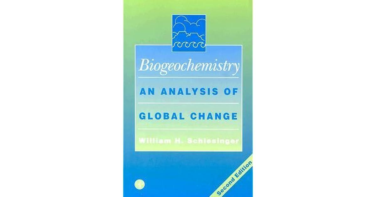 Biogeochemistry An Analysis Of Global Change