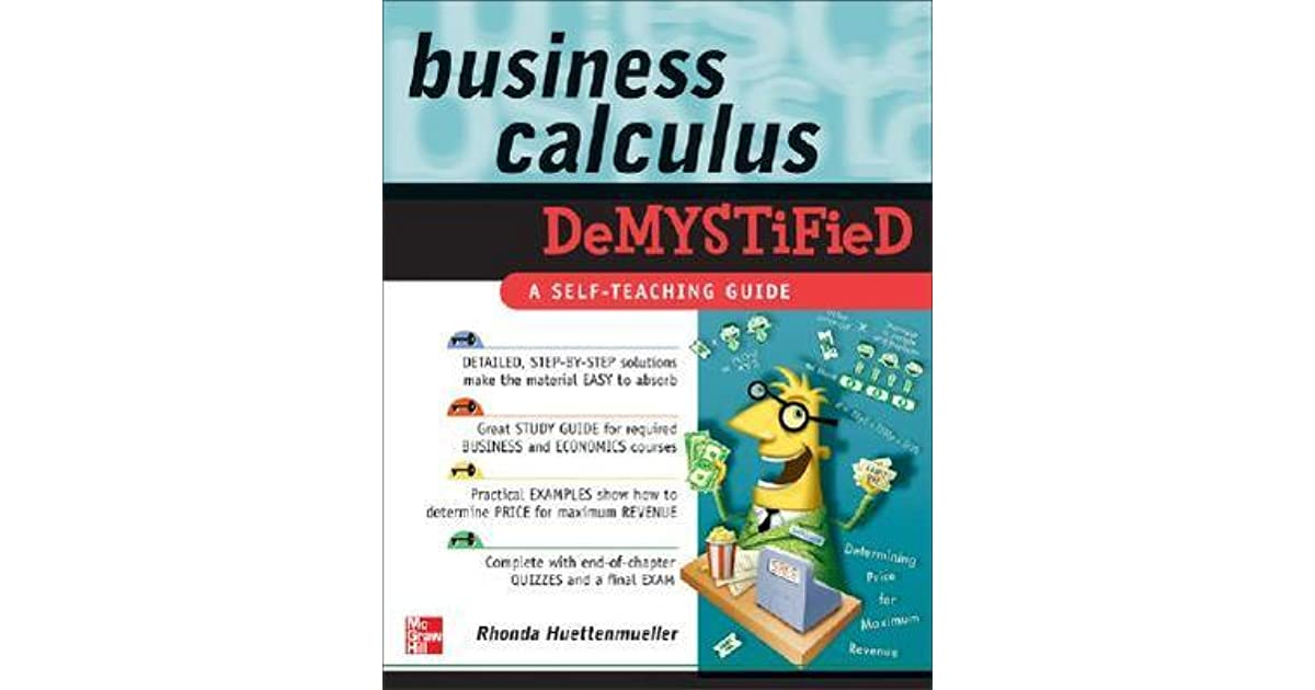 Calculus Demystified Pdf