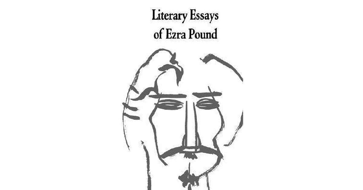 Literary Essays Of Ezra Pound By Ezra Pound