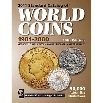 Standard Catalog Of World Coins 1901 2000 By George S Cuhaj