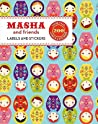 Masha and Friends Labels & Stickers