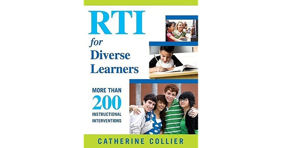 Rti For Diverse Learners More Than 200 Instructional Interventions