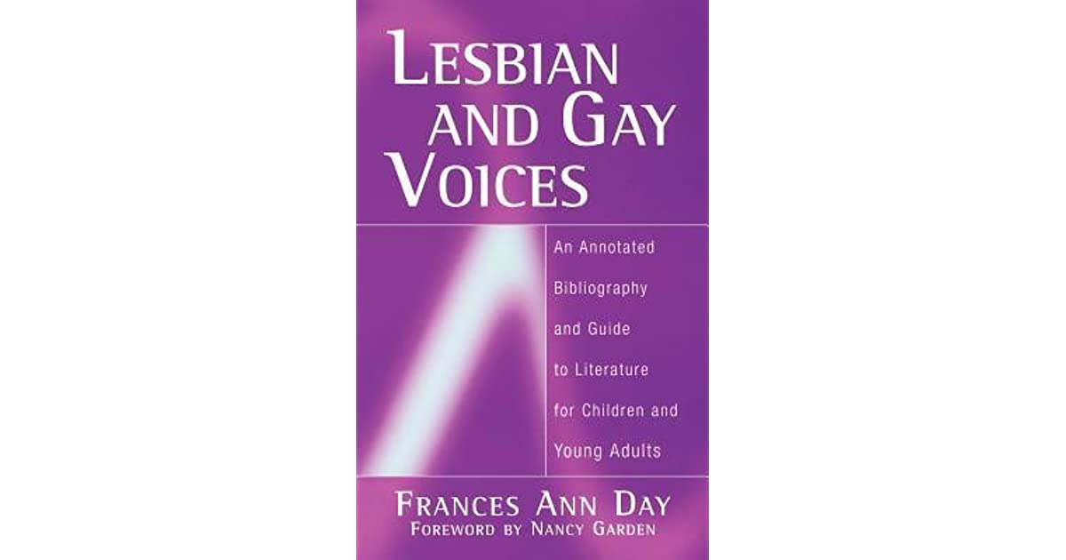 Lesbian And Gay Voices An Annotated Bibliography And -4963