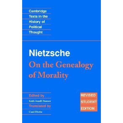 a genealogy of morals first essay