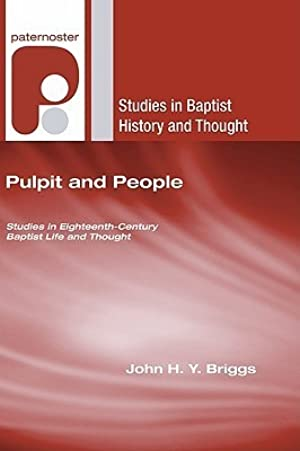 [Epub] ↠ Pulpit and People  Author John H.Y. Briggs – Submitalink.info