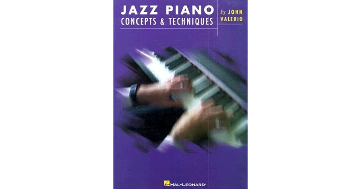Jazz piano concepts techniques by john valerio fandeluxe Images