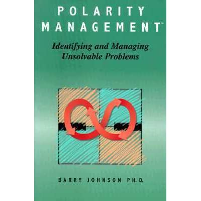 polarity management Managing polarities  barry wrote polarity management: identifying and managing unsolvable problems in 1992 and founded polarity management associates in 1995 you.
