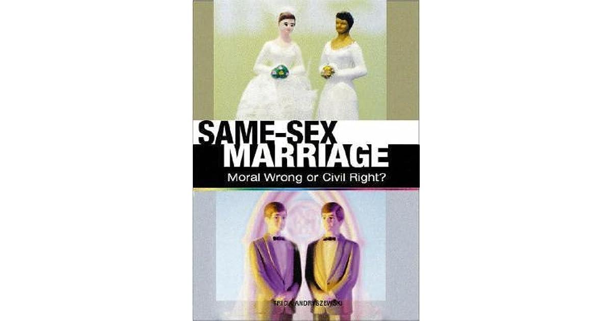 Gay marriage morally wrong