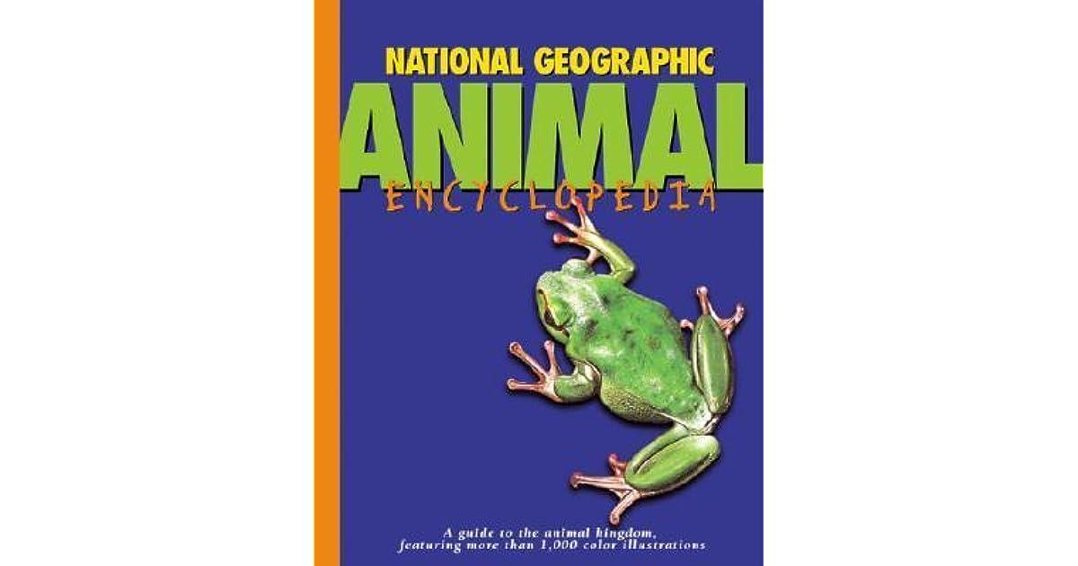 national geographic encyclopedia of animals pdf