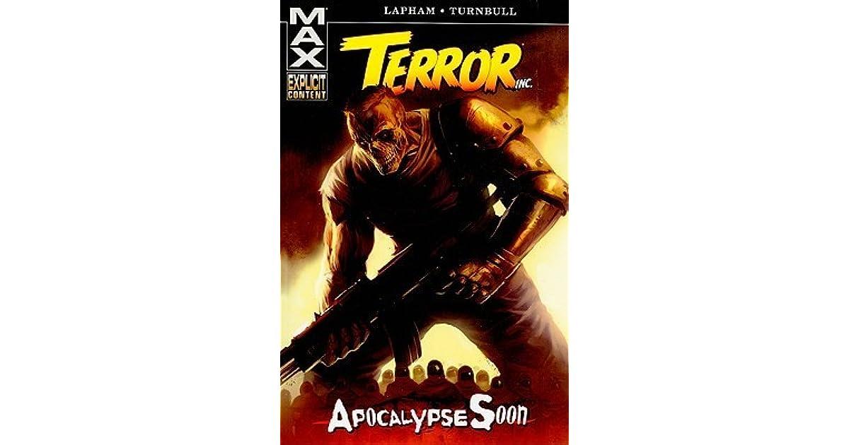 Terror Inc Apocalypse Soon By David Lapham