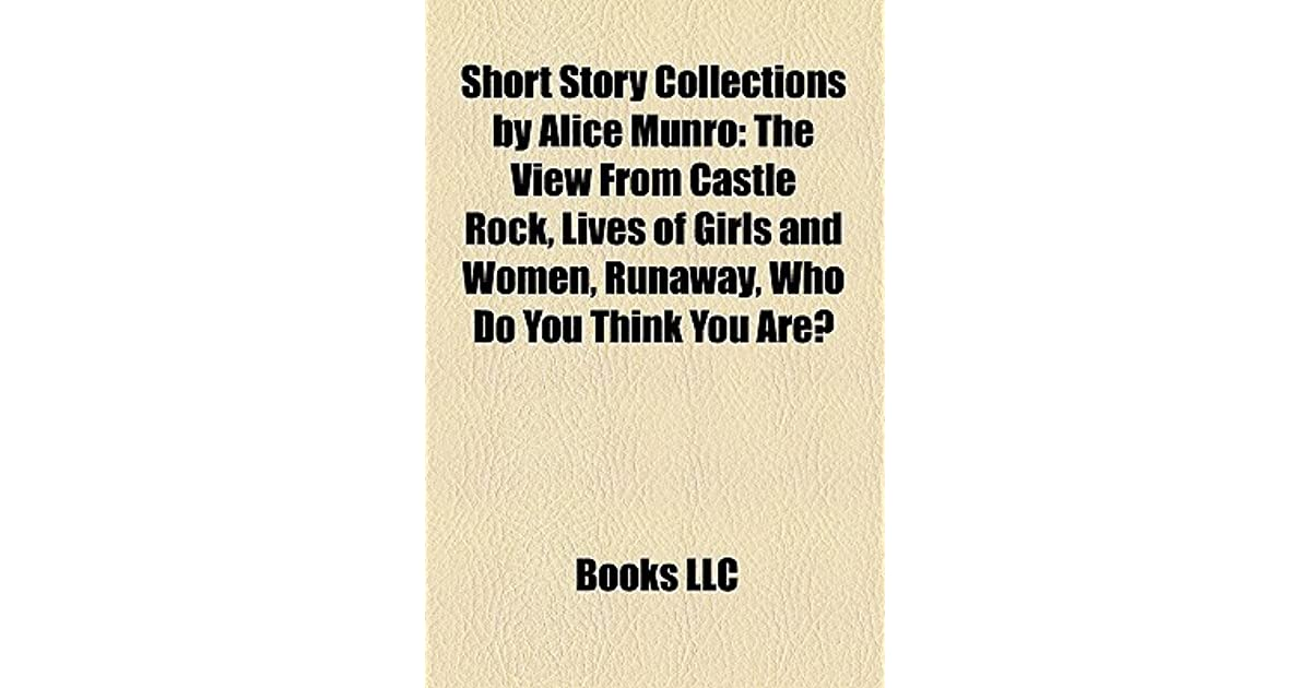 who do you think you are alice munro pdf