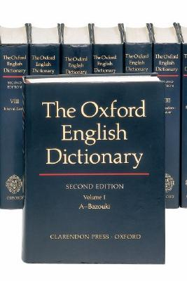 Read The Oxford English Dictionary 20 Volume Set By John Andrew Simpson