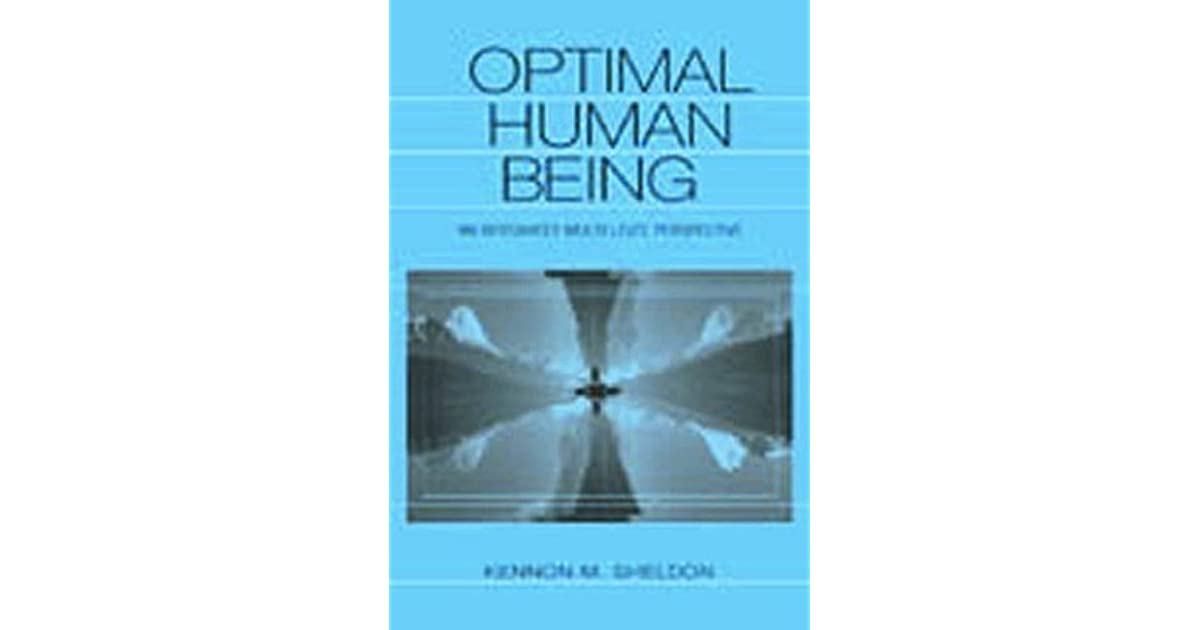 Optimal Human Being An Integrated Multi Level Perspective border=