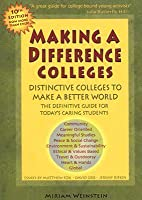 Making a Difference Colleges: Distinctive Colleges to Make a Better World