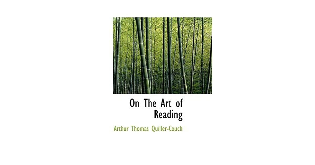 arthur quiller couch on the art of writing