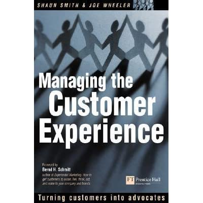 managing the customer experience Morris takes a rational, measurement-driven approach to managing customer experience (cex) this is a concise book, but covers a lot of cex issues, both for the client-side cex program managers and the consultant/providers of cex survey measurement programs.