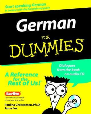 German for Dummies [With CD]