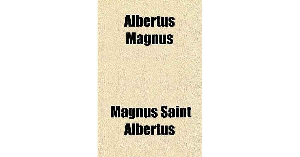 Albertus Magnus by Albert the Great