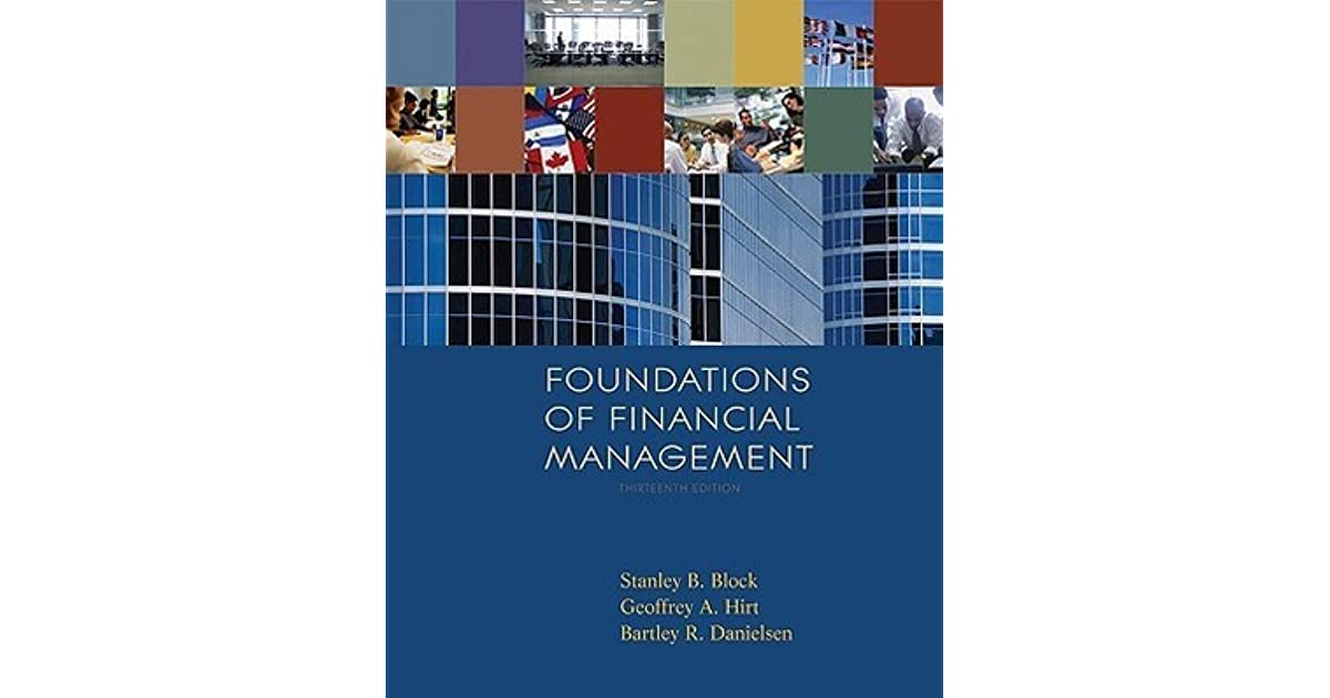 Foundations Of Financial Management With Time Value Of