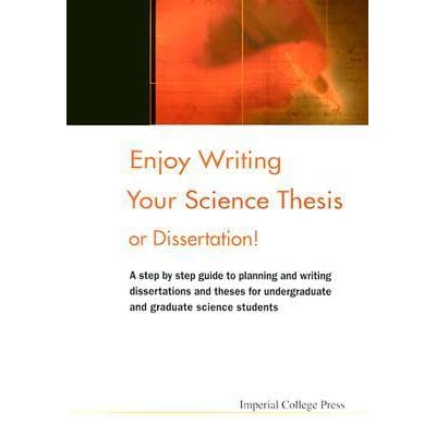 enjoy writing your science thesis