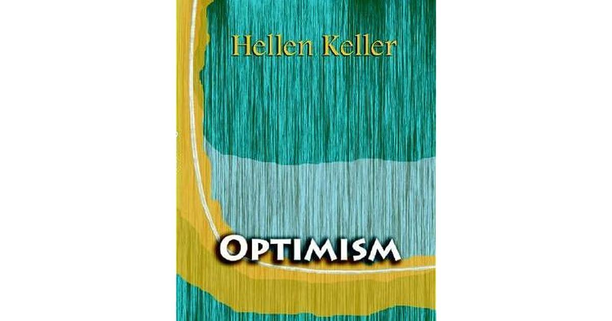 Optimism (1903) by Helen Keller