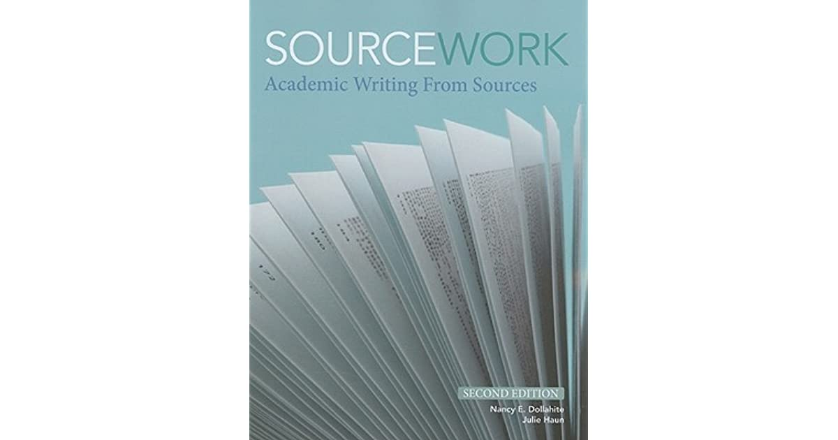 sourcework academic writing from sources Sourcework academic writing from sources pdf sourcework academic writing from sources pdf - title ebooks : sourcework academic writing from sources pdf.