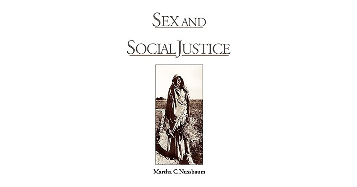 Study questions for nussbaums sex and social justice