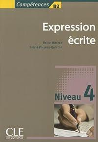 Expression écrite : Niveau 4 B2