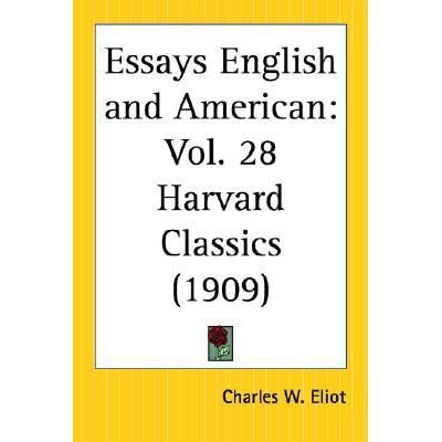 english and american essays