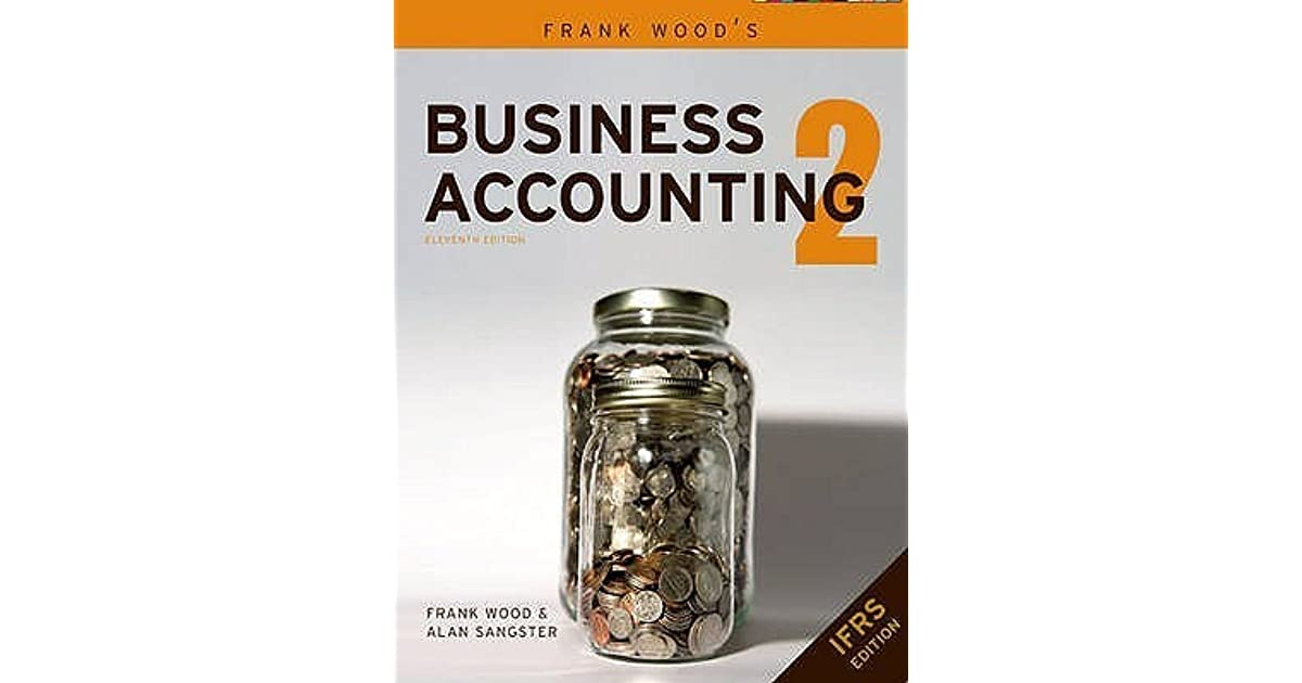 Business Accounting 1 Frankwood 12th Edition Pdf
