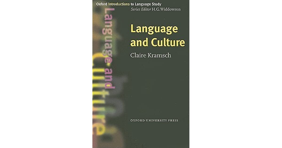 link between language and culture