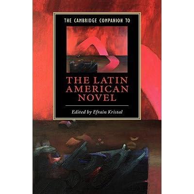 Manual The Cambridge Companion to the Latin American Novel