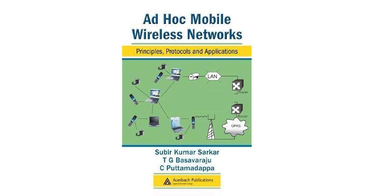 Network ad hoc ebook download wireless