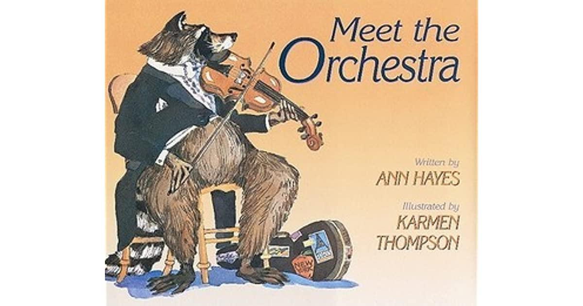 meet the orchestra ann hayes