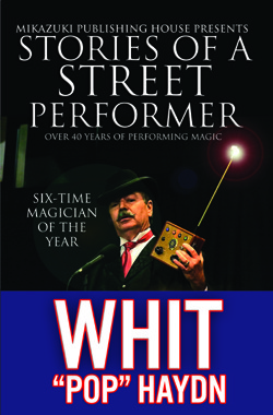 Stories of a Street Performer cover