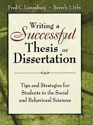 Writing a Successful Thesis