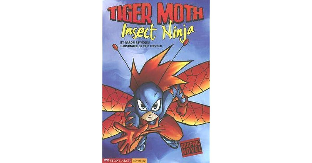 Tiger Moth Insect Ninja Tiger Moth By Aaron Reynolds