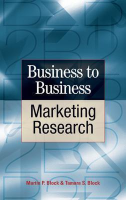 Business to Business Marketing Research