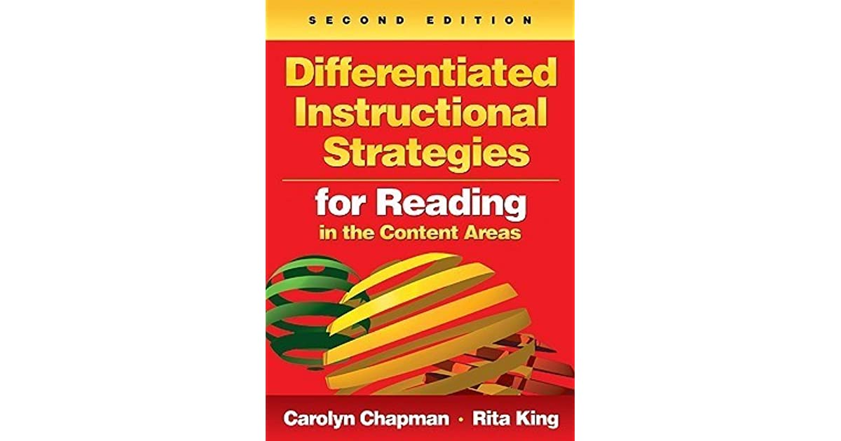 Differentiated Instructional Strategies For Reading In The Content