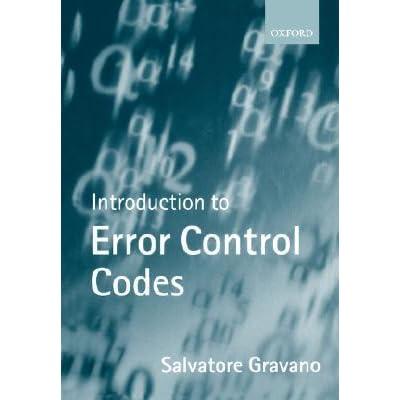 introduction to error control codes gravano