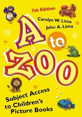 A to Zoo: Subject Access to Children's Picture Books