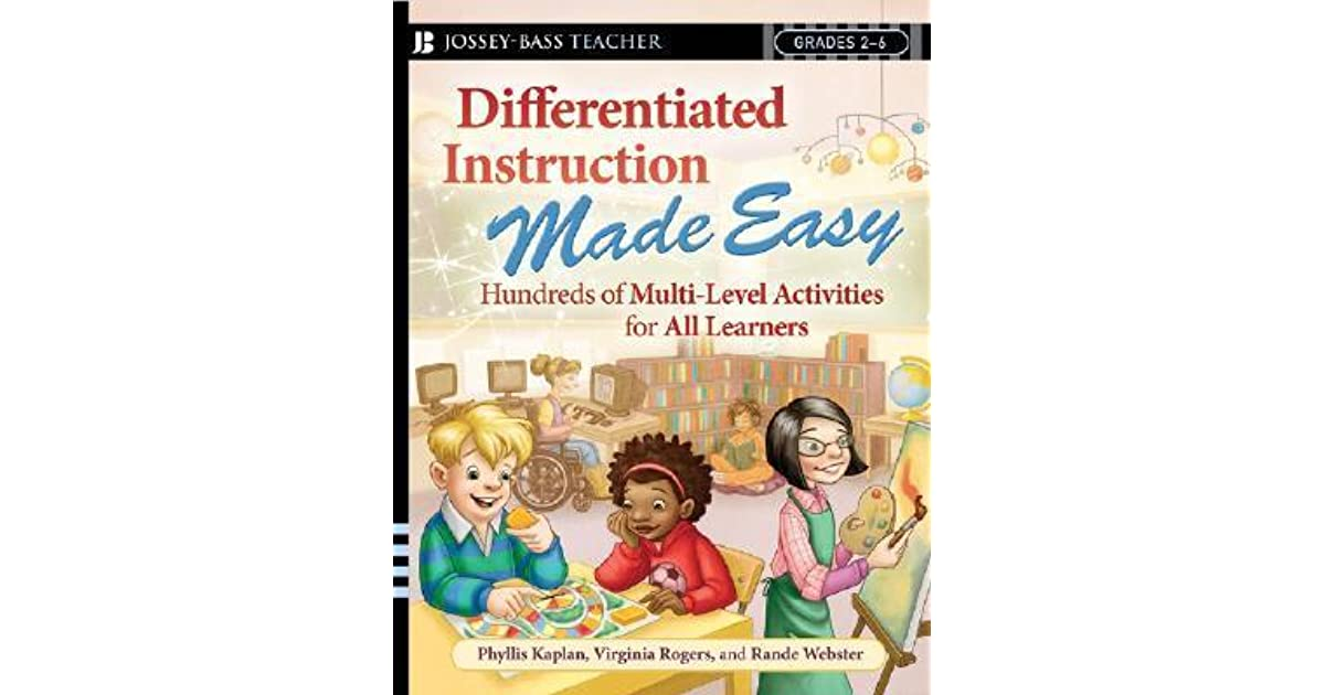 Differentiated Instruction Made Easy Hundreds Of Multi Level