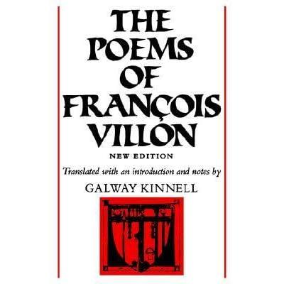 The Poems Of François Villon By François Villon